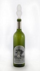 Aerator on bottle