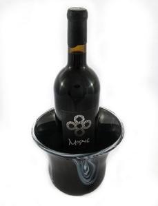 Mosaic Wine Drip Vase